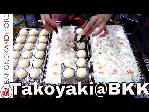 Takoyaki - Japanese Street Food @ Wang Lang Market Bangkok