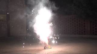 Sacramento Bee Firework Review - Phantom Peacock Tail Fan