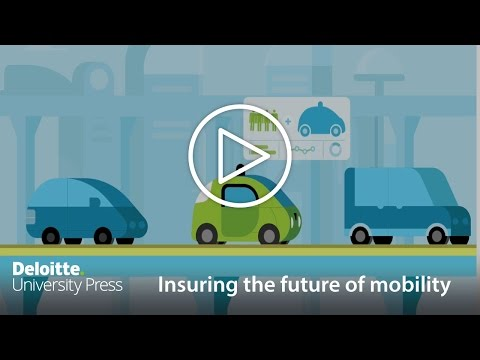 Insuring the future of mobility: Insurance and transportation ecosystem | Deloitte Insights