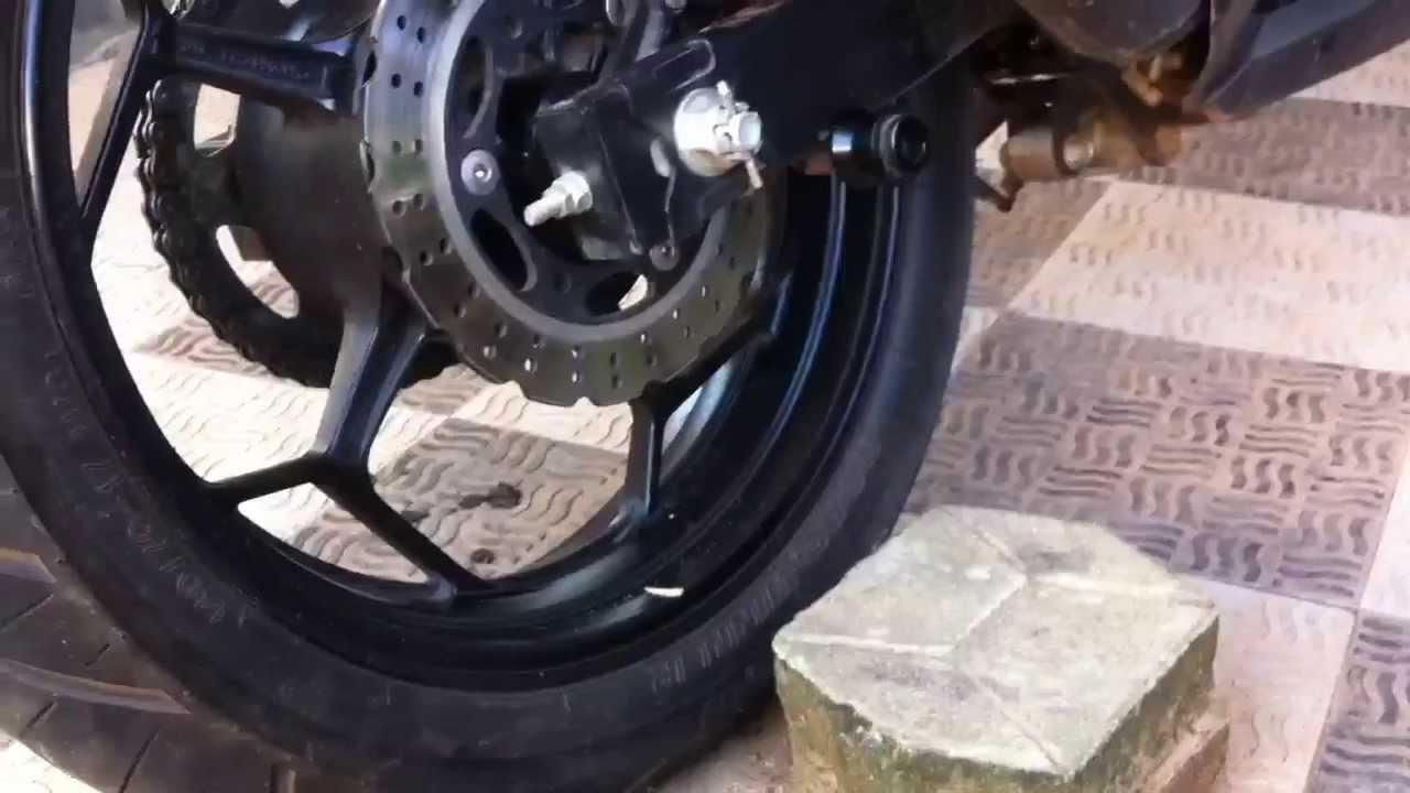 Kawasaki Ninja How To Adjust Chain