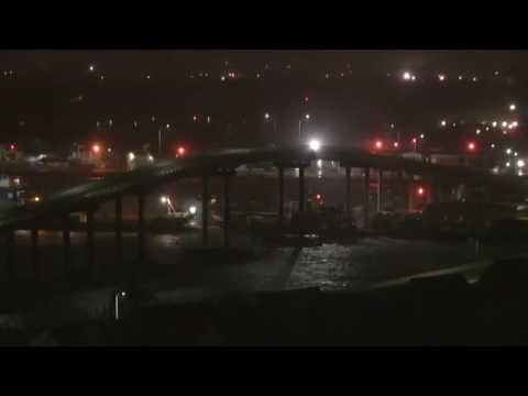 Hurricane Matthew Hits the Bahamas