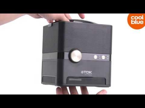 TDK A360 bluetooth speaker videoreview en unboxing NL / BE
