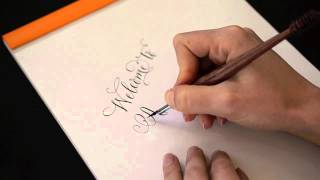 Welcome to Antiquaria-Calligraphy Demonstration