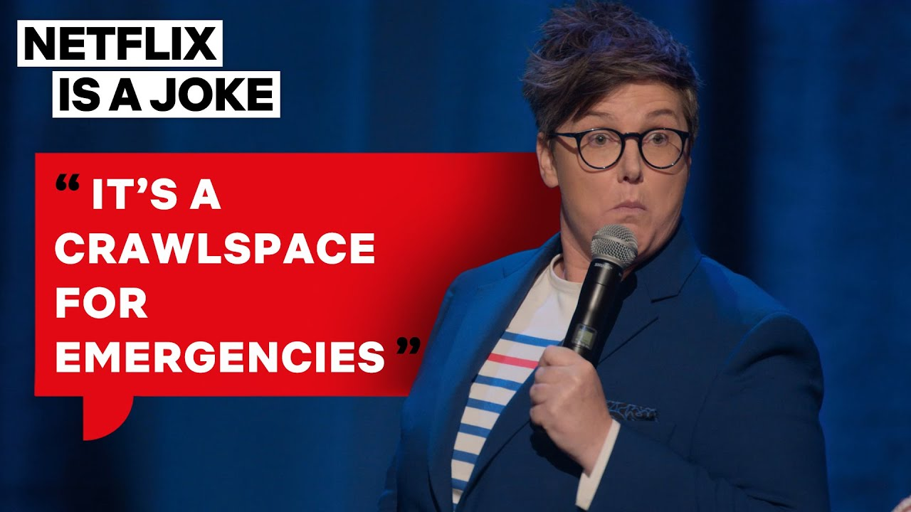 Hannah Gadsby Explains Where to Find 'The Douglas Pouch' On The Female Body | Netflix Is A Joke