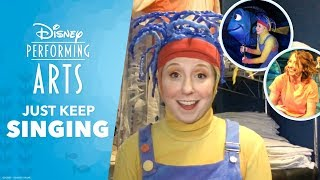 """Just Keep Singing"" Backstage at Finding Nemo – The Musical – Episode 3"