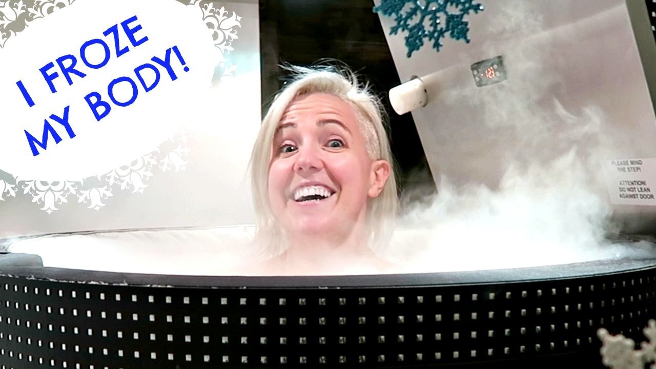I TRY CRYOTHERAPY FOR MY CHRONIC BACK PAIN (+ results!)