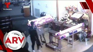 Roban el dinero de las limosnas en una iglesia de Puerto Rico | Al Rojo Vivo | Telemundo