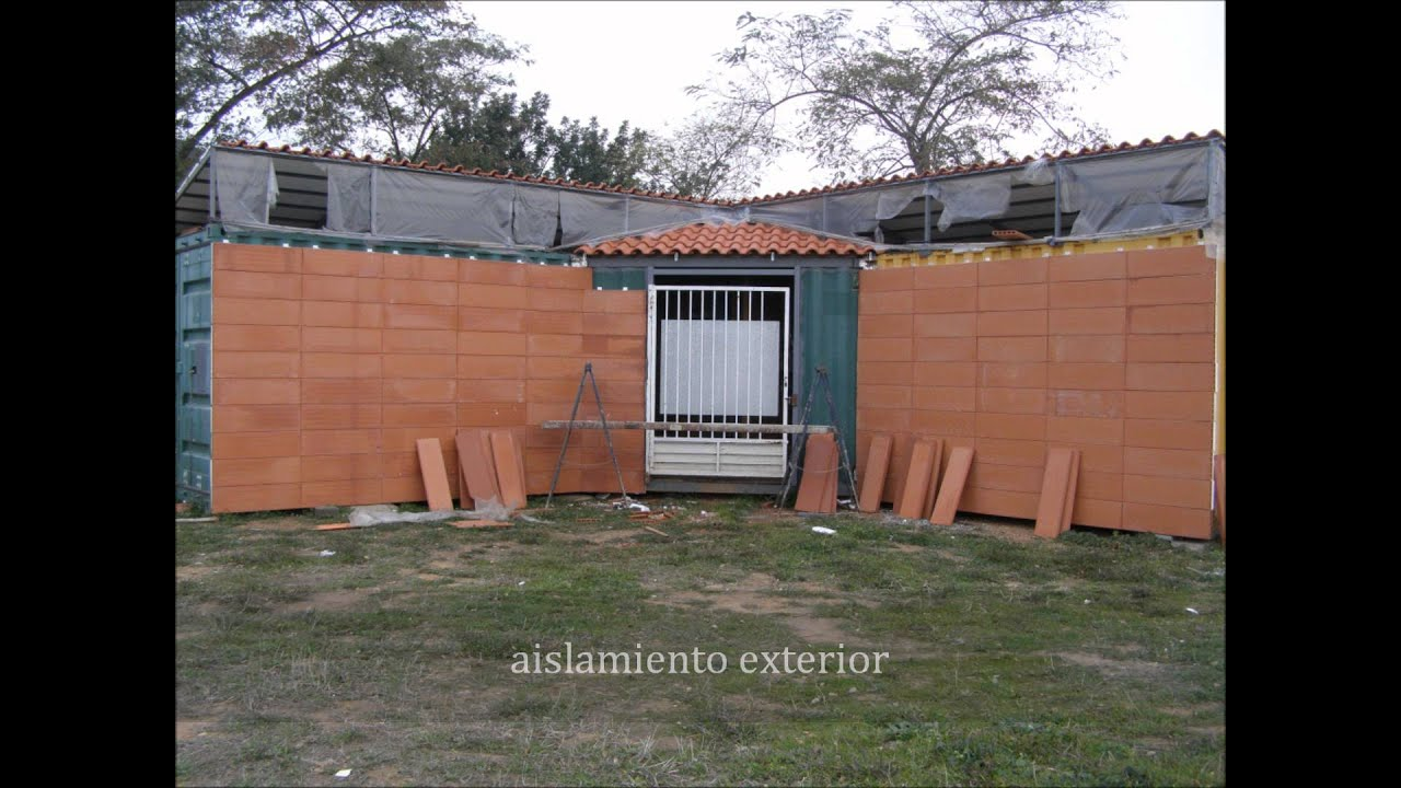 Construccion y venta de viviendas en contenedores marinos youtube - Casas prefabricadas de contenedores ...