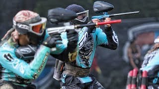 Amazing Pro Paintball Xball match: Xfactor vs Russian Legion and DMG vs Outlaws in the NXL