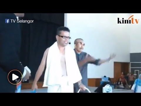 Jamal Yunos impersonator makes an appearance at PKR event