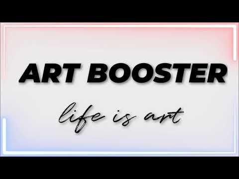 Starting a new art channel   ART BOOSTER   😊😊