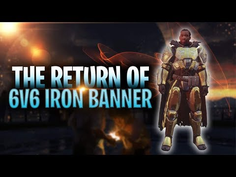 The Return of 6V6 Iron Banner! Opening IB Packages