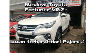 Review Toyota Fortuner VRZ automatic 6speed Indonesia