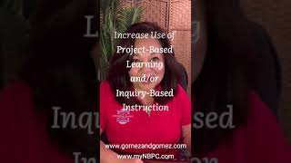 BP #29: Increase Use of Project-Based Learning and/or Inquiry-Based Instruction