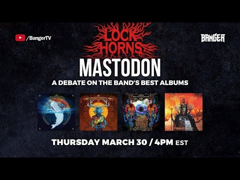 LOCK HORNS | Mastodon Album Debate with Calum Slingerland of Exclaim