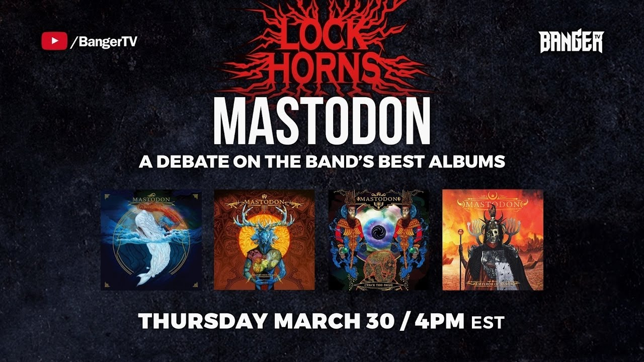 MASTODON Album Debate with Exclaim's Calum Slingerland | LOCK HORNS | episode thumbnail
