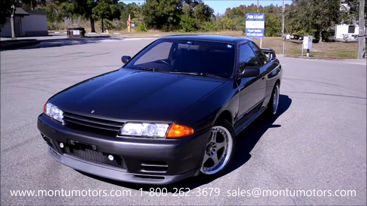 1989 nissan skyline gtr for sale from montu motors youtube 1989 nissan skyline gtr for sale from montu motors vanachro Gallery
