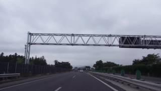 [drive japan]東北自動車道 仙台南IC-郡山IC(Tohoku Expressway Miyagi Sendai-Fukushima Koriyama)
