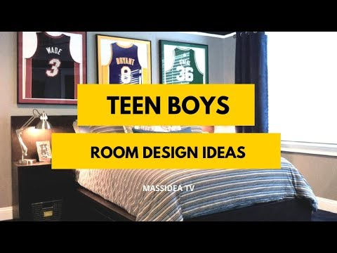 65+ Cool Teen Boys Room Design Ideas for Teen