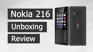 Nokia 216 Unboxing & Full Review | Amazon Product 2017