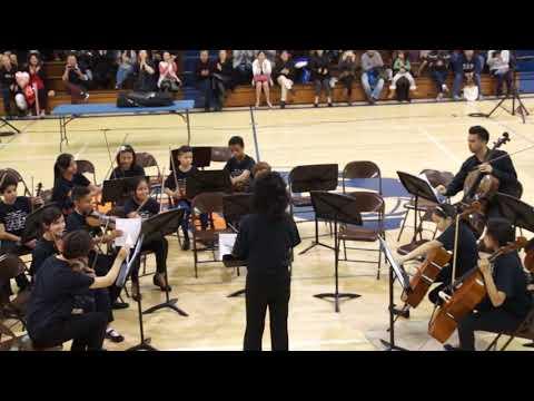 Orangeview Junior High School  2018 Winter Concert  3