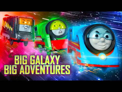 Space Chase! | Big Galaxy Big Adventures #2 | Thomas & Friends