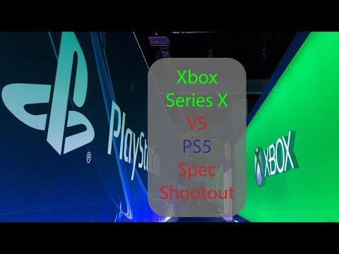 Xbox Series X vs PlayStation 5 Spec Shootout