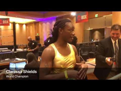 Claressa Shields TKOs Nikki Adler to win WBC, IBF world titles in 4th pro bout