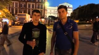 Первое наще видео на улице о знакомсте с девушкой