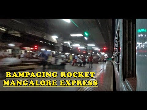 Rampaging ROCKET : MUMBAI CSMT to THANE non stop journey in Mangaluru Express