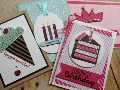 Biggest Birthday Ever Annual Catalog 2016 2017 Stampin Up