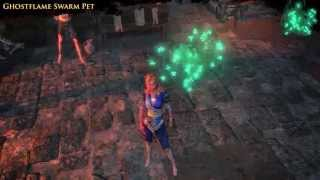 Path of Exile - Ghostflame Swarm Pet
