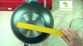 Обзор сковороды Wok Stern 28см (2.8л) RDS-369