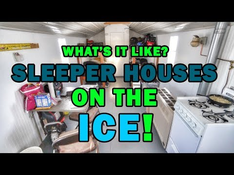 Are Sleeper Houses For Ice Fishing Worth The Cost? What YOU Can Expect! Lake Of The Woods