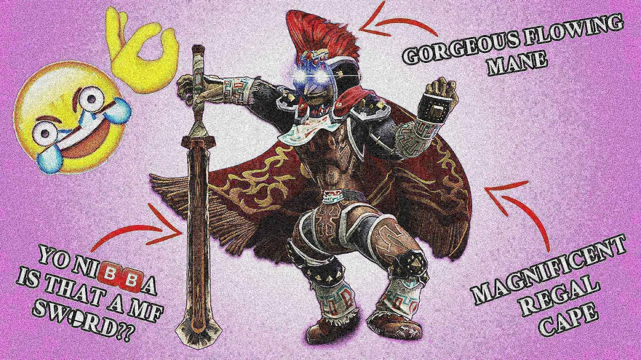 Smash Bros Ultimate The Chad Ganondorf