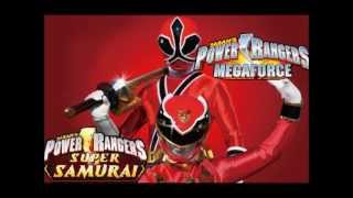 power rangers megaforce vs power rangers samurai fan made team up morph