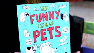 Children's Comedian James Campbell Talks DOGS, with his book THE FUNNY LIFE OF PETS
