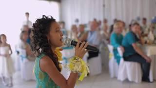 Трогательная Песня от младшей  сестренки на свадьбу