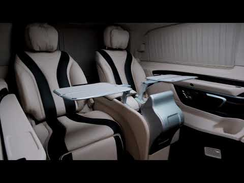Уникальный проект на базе Mercedes-Benz V-class Long от компании Elite Tuning