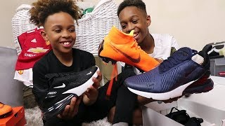 WE UNBOXED OUR NIKE PACKAGE TOGETHER!