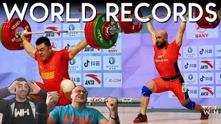 INSANE World Record Battle w/ Seb & Sergii | Asian Weightlifting Championships M109