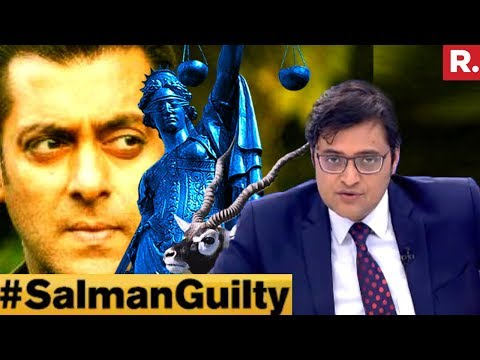 Salman Khan A Convict Or A Victim? #SalmanGuilty | The Debate With Arnab Goswami