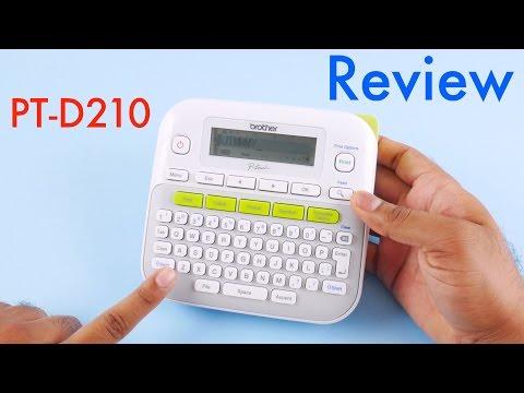 Brother PT-D210 Label Maker Review