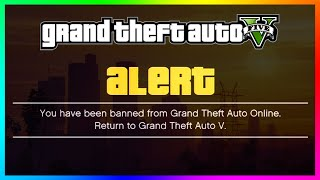 GTA 5 Online - DID YOU GET BANNED!? - New Huge Ban Wave Across GTA Online! (GTA 5 Gameplay)