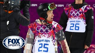 Repeat youtube video Shaun White fails to medal in halfpipe final