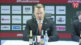 1878 TV | Pressekonferenz 27.11.2018 Augsburg-Wolfsburg 6:2