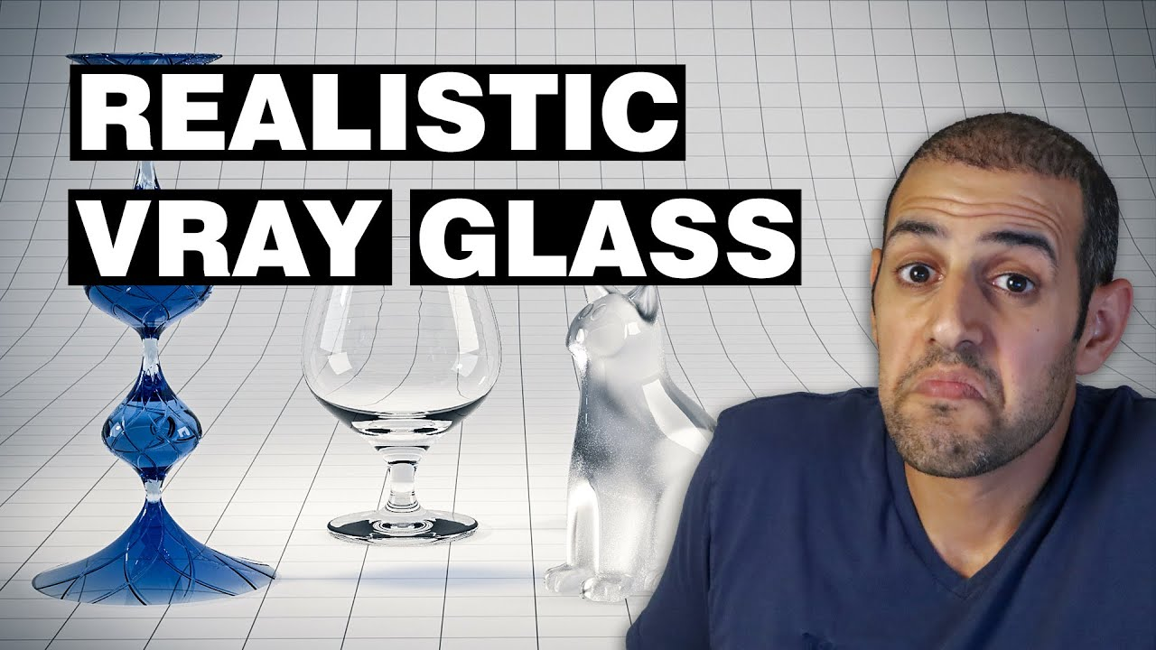 Vray glass material tutorial in 3ds max youtube for Mirror vray material