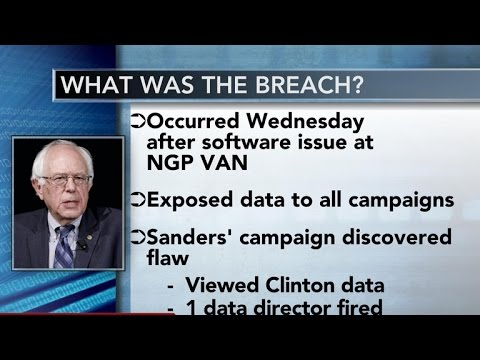 DNC: Sanders campaign improperly accessed Clinton data