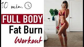 FULL BODY FAT BURN - HIIT CARDIO WORKOUT