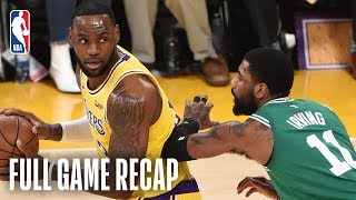CELTICS vs LAKERS | Kyrie Irving Leads Boston In LA | March 9, 2019